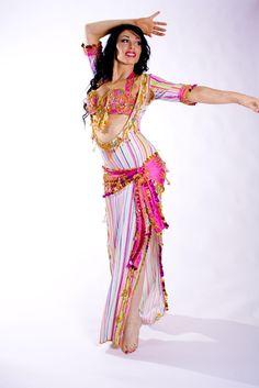 Belly dance special sa'idi dress/galabia - Sugar Rush