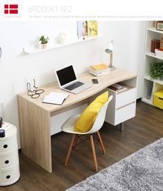 Study Rooms, Study Desk, Male Bedroom, Easy Home Decor, Offices, Home Office, Arch, Room Decor, House Design
