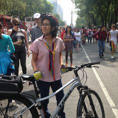 Nuestra gran amiga @lolkincast en la #marchadelorgullo2017 Foto de otra gran amiga @judithvazquez64 #Marcha #Orgullo2017 #CDMX