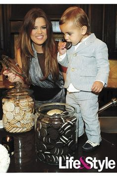 Khloe Kardashian Mason Disick