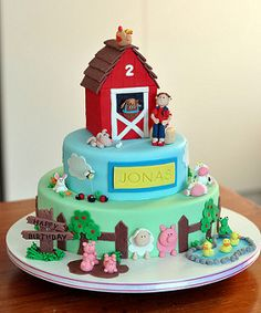 Farmyard cake | by Pretty Cute Cakes