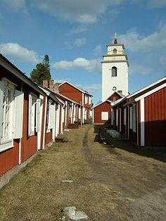 Gammelstad Church Town is a UNESCO World Heritage Site situated in Gammelstaden near the city of Luleå, Sweden. It is the best preserved example of a type of town that was once widespread throughout northern Scandinavia.