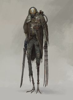 ArtStation - work1, xiaodi jin