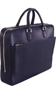84bbd59c778d Valextra Zip Around Briefcase. Trendy Bags