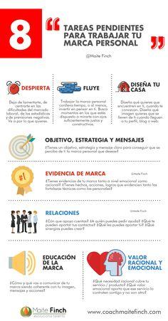 8 Tareas pendientes para trabajar tu Marca Personal