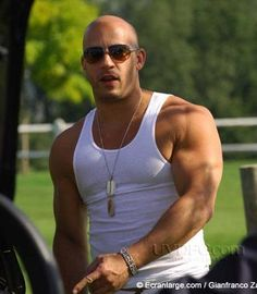 Vin Diesel....those goddamn arms....damn