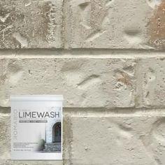 Lime Wash Brick Fireplace Bing Images Decorating