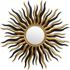 Found it at Wayfair.co.uk - Sun Wall Mirror