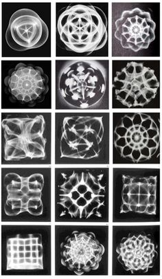 Sound made visible: Cymatics. http://www.cymatics.co.uk/