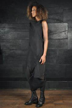 Alessandra Marchi – Asymmetric Long Dress.  Love this but I would definitely take the bottom piece off.