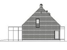 DOM.PL™ - Projekt domu DZW ATRAKCYJNY 1 CE - DOM DW1-43 - gotowy koszt budowy House Layouts, Dom, Shed, Outdoor Structures, Houses, Design, Interiors, Homes