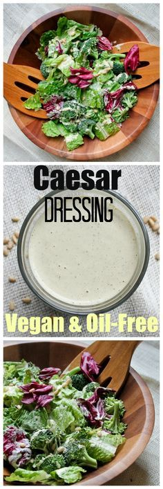 The most amazing Caesar dressing that is vegan and oil-free and a favorite among…