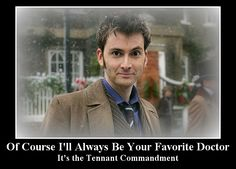 i love this! But I still can't actually pick a favorite doctor