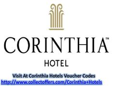 Corinthia Hotels Coupon Codes and Voucher Codes 2014: Corinthia is a family inspired business, founded in 1962 by the Pisani family in Malta. It offers a collection of hotels in exciting locations around the world. Guests can choose from 14 different hotels, spas and locations, including the Corinthia Hotel London, St Petersburg, Budapest, Prague, Lisbon, Khartoum, Tripoli, Malta, Sicily and Tunisia. The locations are some of the most exciting destinations to visit and enjoy local…