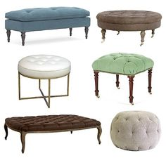 The top left corner as an end of bed seat (different colour), the bottom right corner is great for lounge!