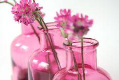 Blumenvase - Apotheke *1* rosa von blumen-wiese auf DaWanda.com