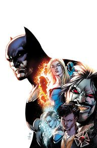 Batman, Black Canary, Killer Frost, the Ray, Vixen, the Atom, and…Lobo?! Spinning directly out of the events of JUSTICE LEAGUE VS. SUICIDE SQUAD, join the sensational team of writer Steve Orlando and artists Ivan Reis and Joe Prado and discover how Batman assembled the roughest, toughest Justice League of all time!