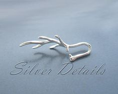 Sterling Silver 925 Asymmetric Branch Pinch Bail for Pendant with Swarovski Crystals Finding reference code Jewelry Companies, Craft Supplies, Heart Ring, Swarovski Crystals, Jewelry Making, Pendants, Sterling Silver, Beads, Rings