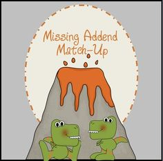 Practice finding missing addends with this fun, FREE, hands on game!  :-)