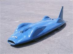 Donald Campbell's Bluebird Land Speed Record Car can be seen at the National Motor Museum, Beaulieu, Hampshire