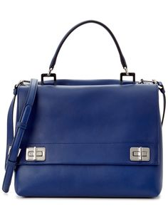 Prada Lux Calf Leather Double Satchel is on Rue. Shop it now.