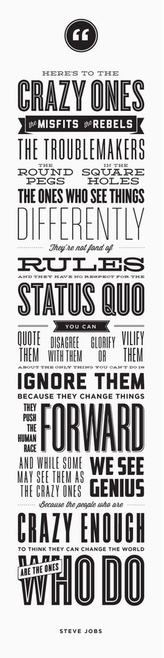 Steve Jobs Quotes - Poster
