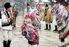 Christmass and New Year Traditions in Moldova: Capra Anul Nou, New Years Traditions, Moldova, Capri, Costume, Traditional, Color, Women, Country