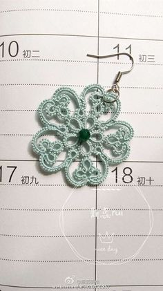 VK is the largest European social network with more than 100 million active users. Tatting Lace, Diy And Crafts, Crochet Earrings, Jewelry, Craft, Amigurumi, Atelier, Jewlery, Jewerly