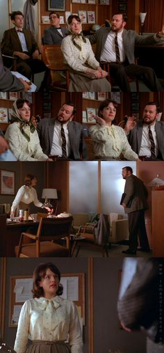 Mad Style: Peggy Olson, Part 2 Mad Men Peggy, And Peggy, Peggy Olson, The Twenties, Toms, Seasons, Olsen, Color Blue, Costumes