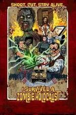 I Survived a Zombie Holocaust ( 2014 ) : A young runner, on a Zombie film set, has the first day from hell when real Zombies overrun the set. 2014 Runtime: 	104 mins Genres: 	Comedy Horror Zombies Countries: 	New Zealand  ...................... (I enjoyed it, spoof, campy and funny in places, K)