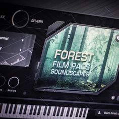 Vsti / Au plug-in instrument Forest film pads 1 - cinematic soundscapes, strings, atmospheric sound textures for electronic music production Dark Gothic, Forest Animals, Electronic Music, Horns, Plugs, Singing, Instruments, Spiritual, Mac