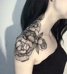 Subtle elegance of genuine love showing through the most beautiful black rose tattoos. Dream Tattoos, Future Tattoos, Body Art Tattoos, Cool Tattoos, Tatoos, Sexy Tattoos, Piercings, Piercing Tattoo, Tattoo Motive