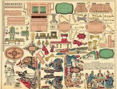 Бумажные куклы — Yandex.Disk Paper Toys, Paper Crafts, Paper Furniture, Views Album, Vintage World Maps, Deco, Tissue Paper Crafts, Paper Craft Work, Papercraft