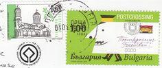 Postcrossing stamp Bulgaria