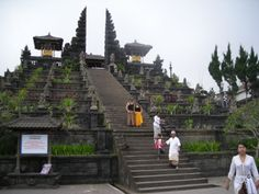 Templos de Besakish, en Bali