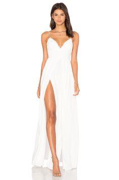 THE JETSET DIARIES Private Beach Maxi Dress em Ivory | REVOLVE