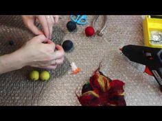 FELTING & ВАЛЯНИЕ: Урок 3. Делаем цветок. - YouTube