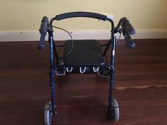 For sale walker, no longer needed. Easy to collapse to pack. $50 pick up. #rangloo, #bar, #accessories