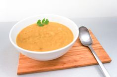 Recette : Soupe de Butternut au Lait de Coco