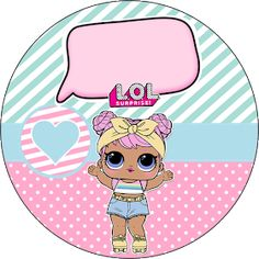 Fiestas Personalizadas Imprimibles: Kit Imprimible Lol Surprise Gratis Frozen Birthday, 7th Birthday, Surprise Party Decorations, Surprise Box Gift, Doll Party, Little Unicorn, Lol Dolls, Pattern Paper, Hello Kitty