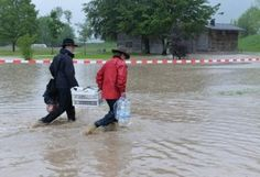 Floods hit central of Europe after days of rain