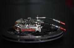 #Brembo Radial Monobloc Pinless P3438 GP Caliper Bike Parts, Brake Calipers, Performance Parts, Sci Fi, Guns, Racing, Poster, Motorbikes, Weapons Guns