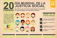 Día Mundial de la Justicia Social 2018 Social Justice, Diversity, Identity, Spanish, Socialism, Equality, Human Rights, Spanish Classroom, Spanish Language