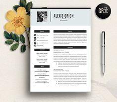 Resume Template   CV Template - 03 by GResume on @creativemarket