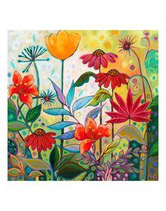 Flower Art Drawing, Garden Mural, Flower Mural, Fence Art, Mural Art, Whimsical Art, Botanical Art, Painting Inspiration, Stencil