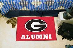 "Georgia Bulldogs Alumni Starter Area Rug Floor Mat 20"""" X 30"""""