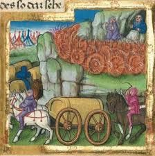 Image result for carriages and wagons medieval