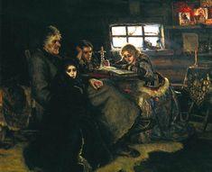 Меньшиков в Березове В. И. Суриков. 1883 г