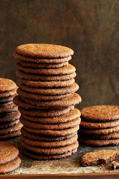 Bacon fat gingersnaps- i used more butter than bacon fat, doubled spices, added some cardamon and freshly ground black paper