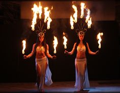 #fireheadpieces #firedancers #sexyfiredancers